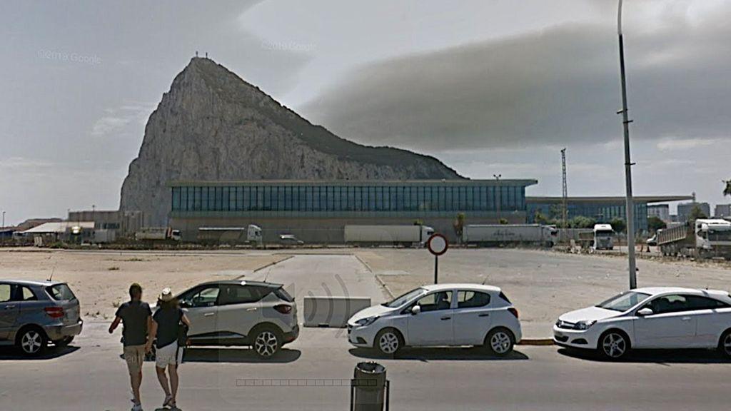 La terminsl del aeropuerto de Gibraltar