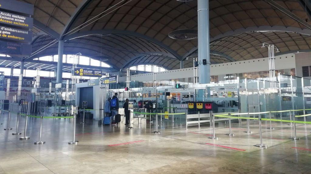Aeropuerto de Alicante.