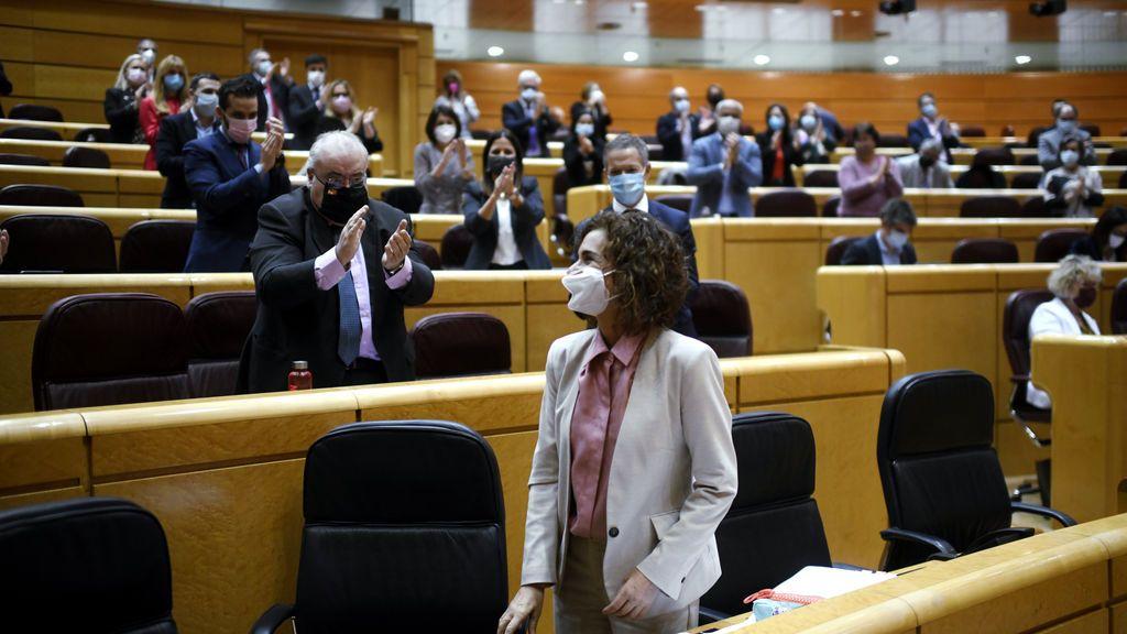 El Senado aprueba definitivamente las primeras cuentas del Gobierno de Sánchez