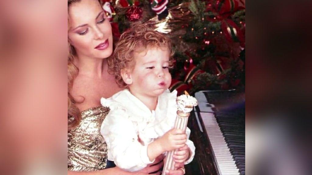 """Ana Obregón recuerda a su hijo con un emotivo vídeo: """"Me has regalado las 27 Navidades más felices de mi vida"""""""