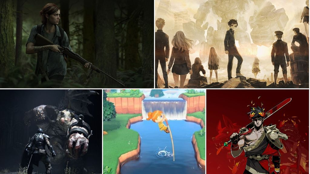 The Last of Us 2, 13 Sentinels,  Demon's Souls, Hades y Animal Crossing: New Horizons