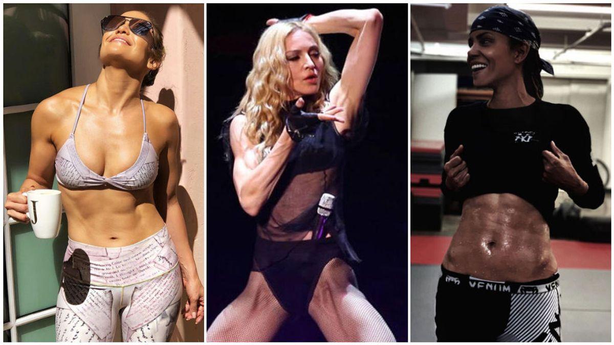 Jennifer Lopez, Madonna y otras celebrities en plena forma física despues de los 50: las fotos que lo confirman.