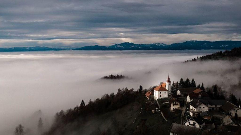 Precaución con la niebla y el viento: el tiempo que hará el miércoles en España