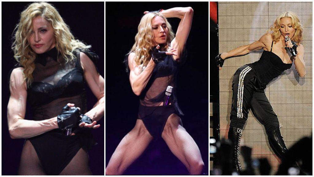 Madonna también cuida su cuerpo de forma perseverante.