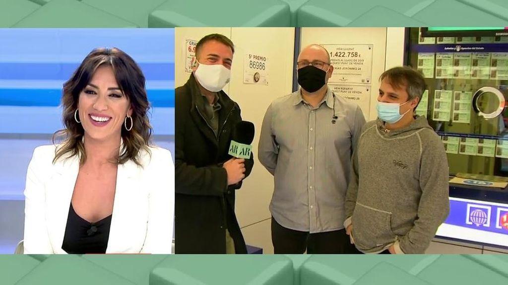 Patricia Pardo confesa su superstición para la Lotería de Navidad