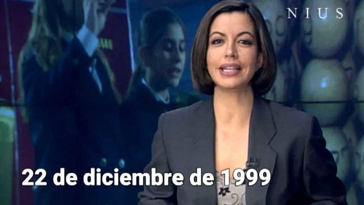 El año que el Gordo cayó en Telecinco y la lista de famosos a los que les tocó la Lotería