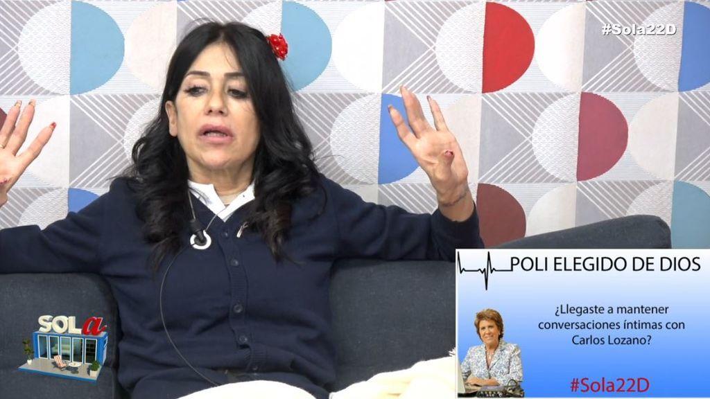 Maite se enfrenta al poli 'Elegido de Dios'
