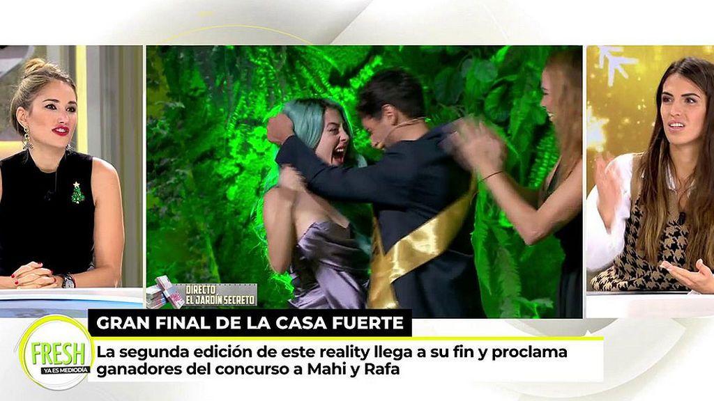 """Alba Carrillo y Sofía Suescun, muy críticas con los ganadores de 'La Casa Fuerte 2': """"Me han dicho que es muy falsilla"""""""