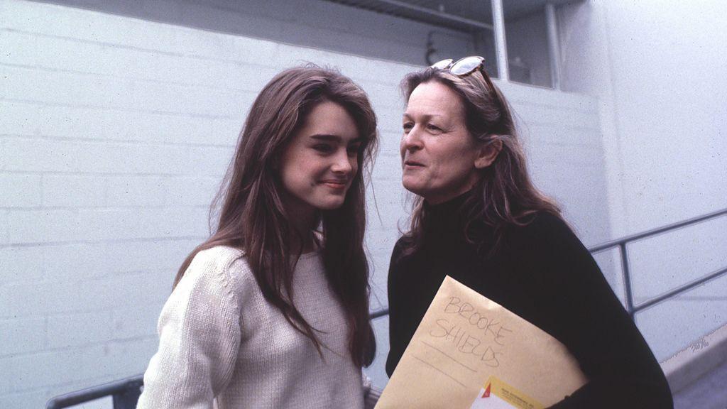 Brooke y su madre