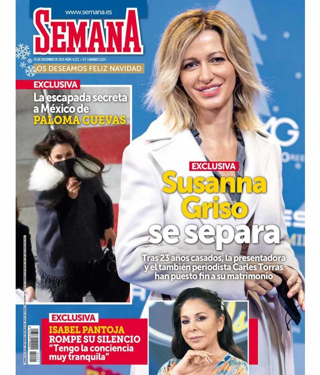 Susanna Griso se separa