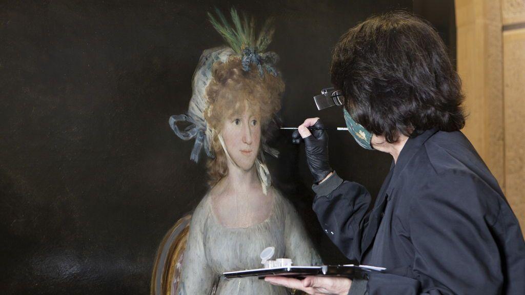 'La condesa de Chinchón' vuelve, rejuvenecida, a las paredes del Prado