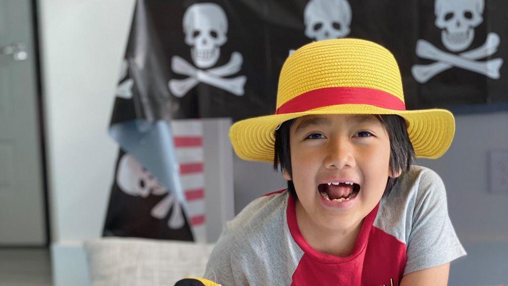 Ryan Kaji, con solo nueve años, es el youtuber mejor pagado en el mundo por tercer año consecutivo