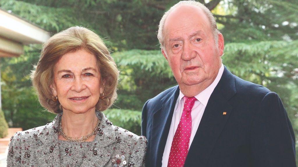 Los Reyes eméritos Juan Carlos y Sofía