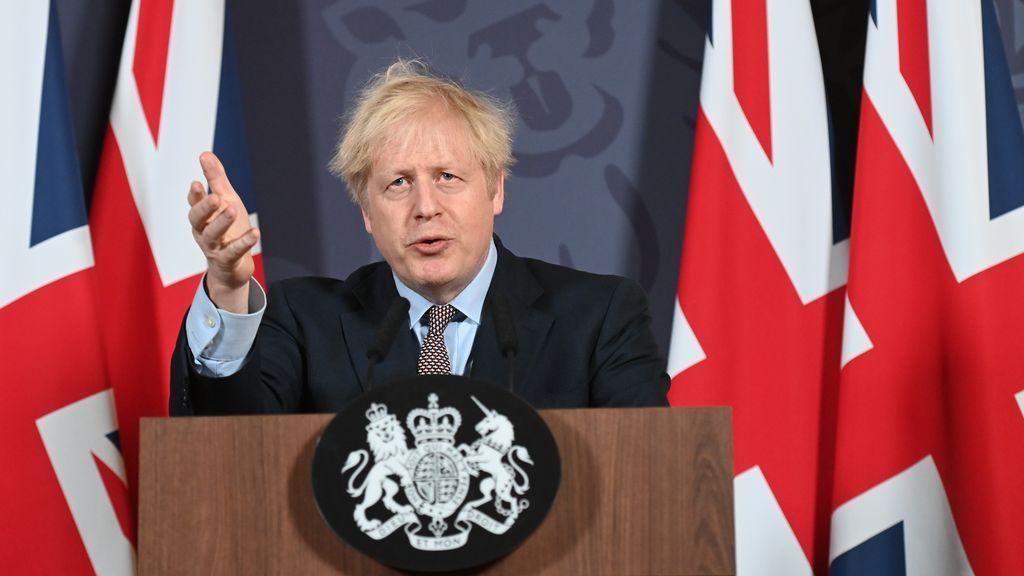 """Johnson: el acuerdo sienta las bases de una """"amistad y una relación a largo plazo"""" con la UE"""
