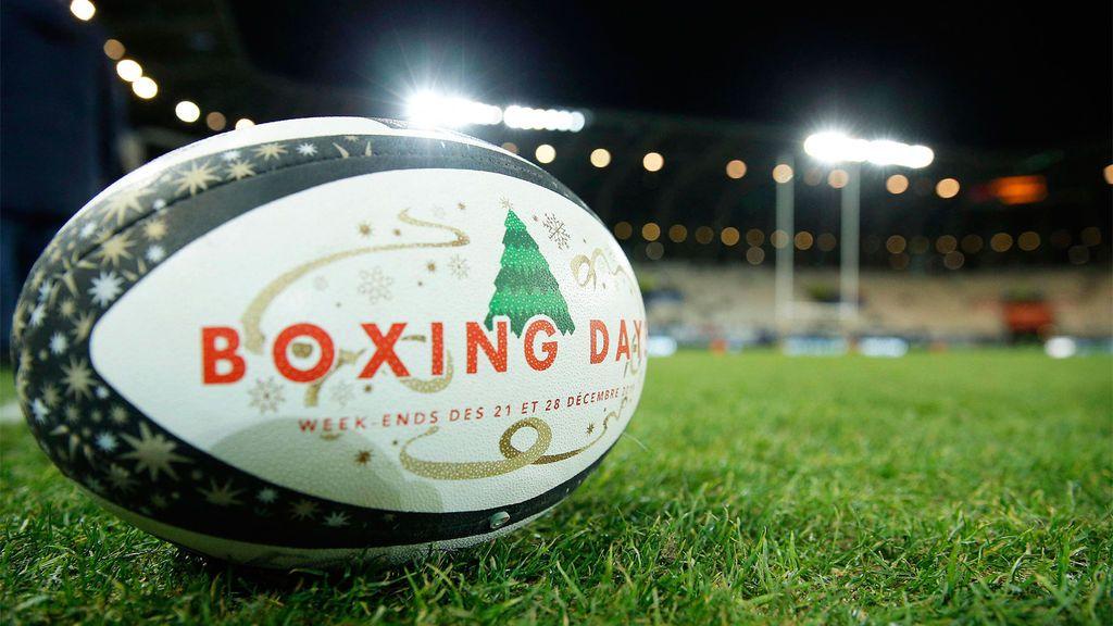 ¿Cuál es el origen de los partidos de rugby durante el Boxing Day?