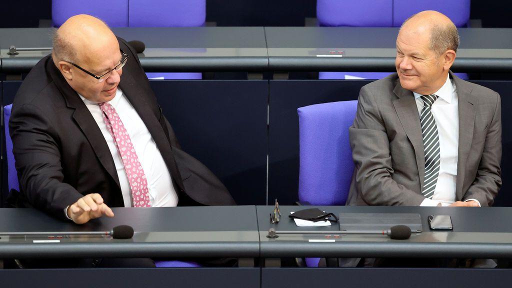 Un conservador y un socialdemócrata: la extraña pareja que 'salva' la economía alemana del coronavirus