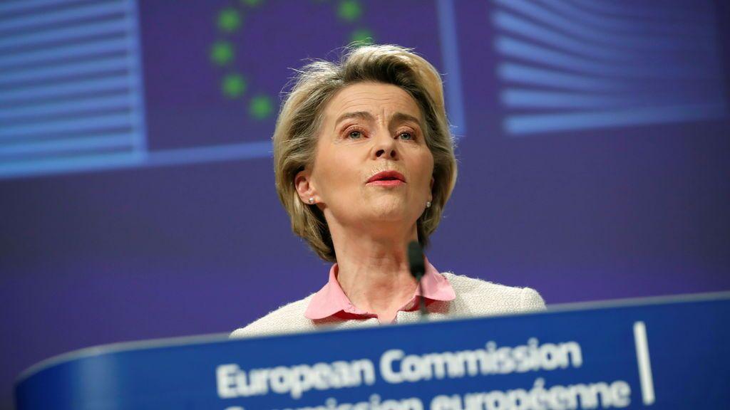 """Ursula von der Leyen: """"Es un buen acuerdo, justo y equilibrado para todos"""""""