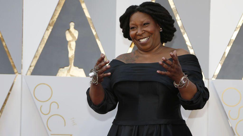 Whoopi Goldberg, presentadora de la 88ª edición de los Óscars