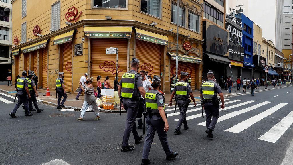 Brasil confirma 344 nuevos decesos por la covid-19 y el total supera los 191.000