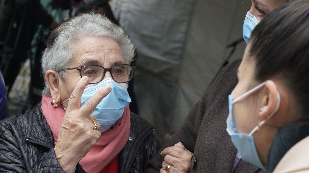 Nieves Cabo, de 82 años