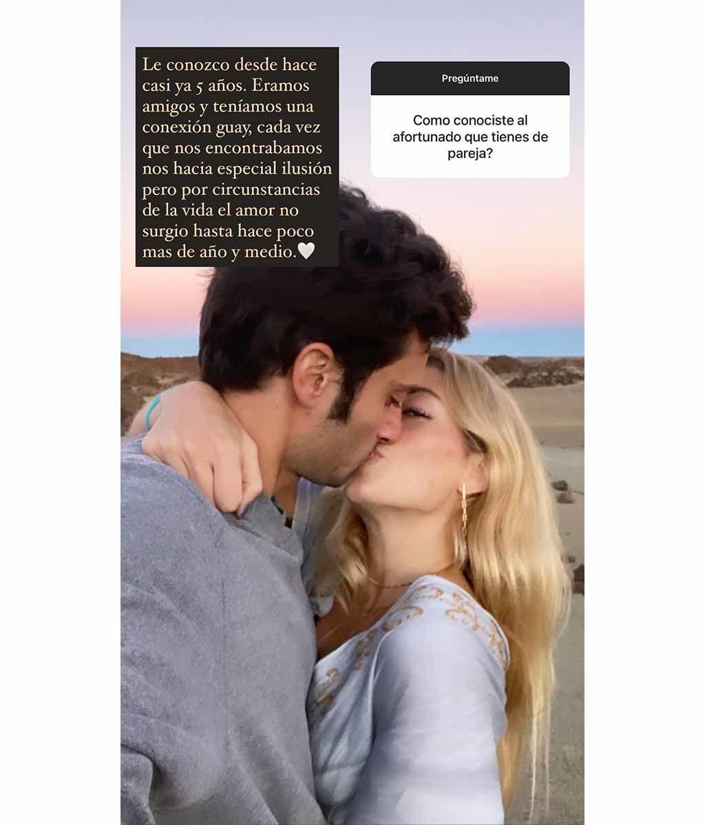 Belén Écija habla sobre su novio, Jaime Sánchez