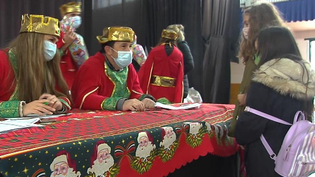Los Reyes Magos adelantan su visita por la covid en Estepa, Sevilla
