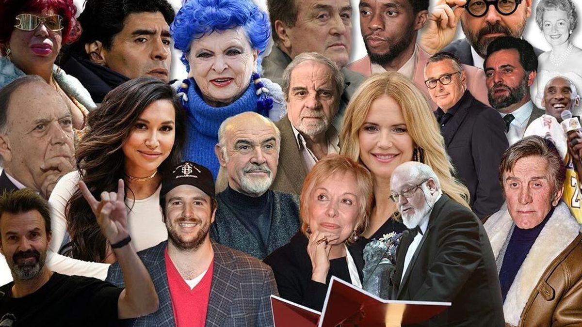 Los famosos que han muerto en 2020: desde Maradona a Julio Anguita