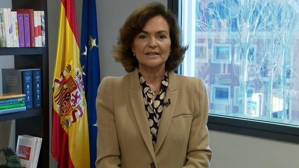 Calvo cuestiona el informe de la Fiscalía sobre  el indulto de los condenados por el 'procés'