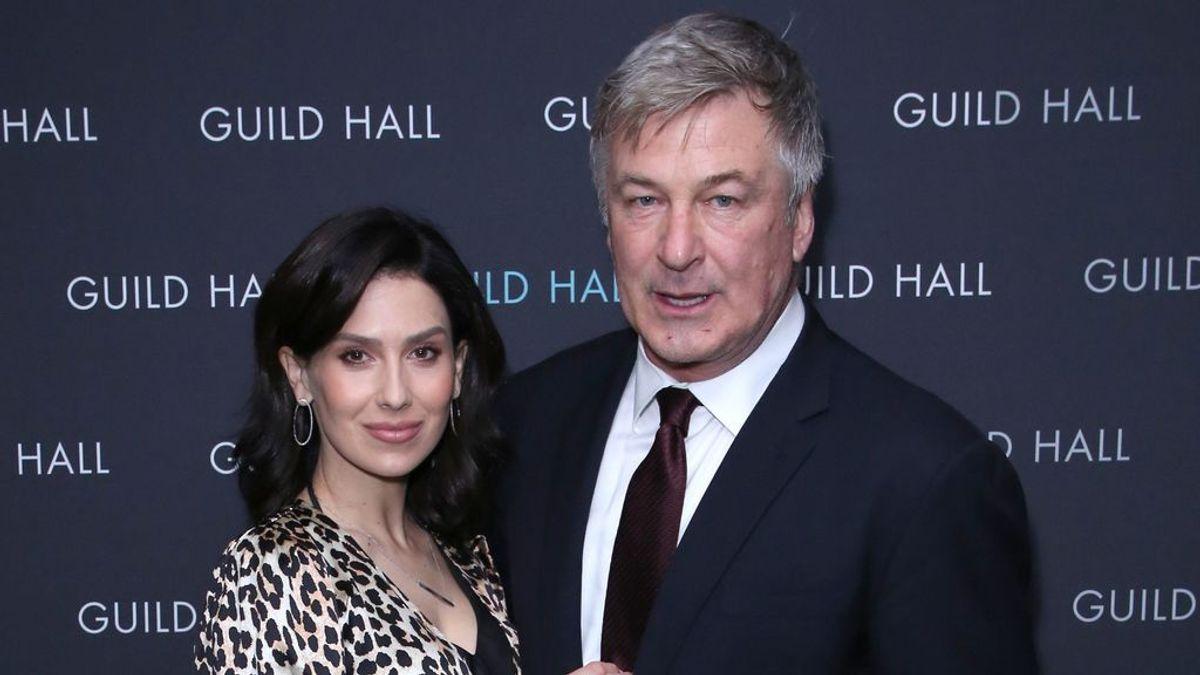 Alec e Hilaria Baldwin, en marzo de 2020 en Nueva York