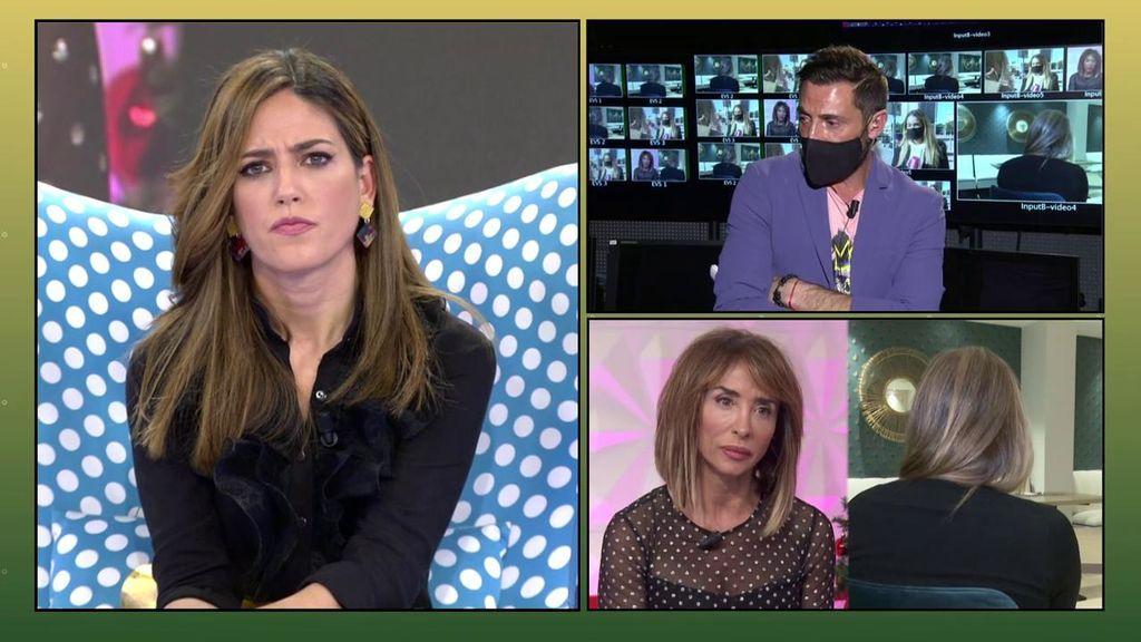 Nuria Marín se enfada y defiende a María Patiño y 'Socialité' ante los 'dardos' de Antonio David