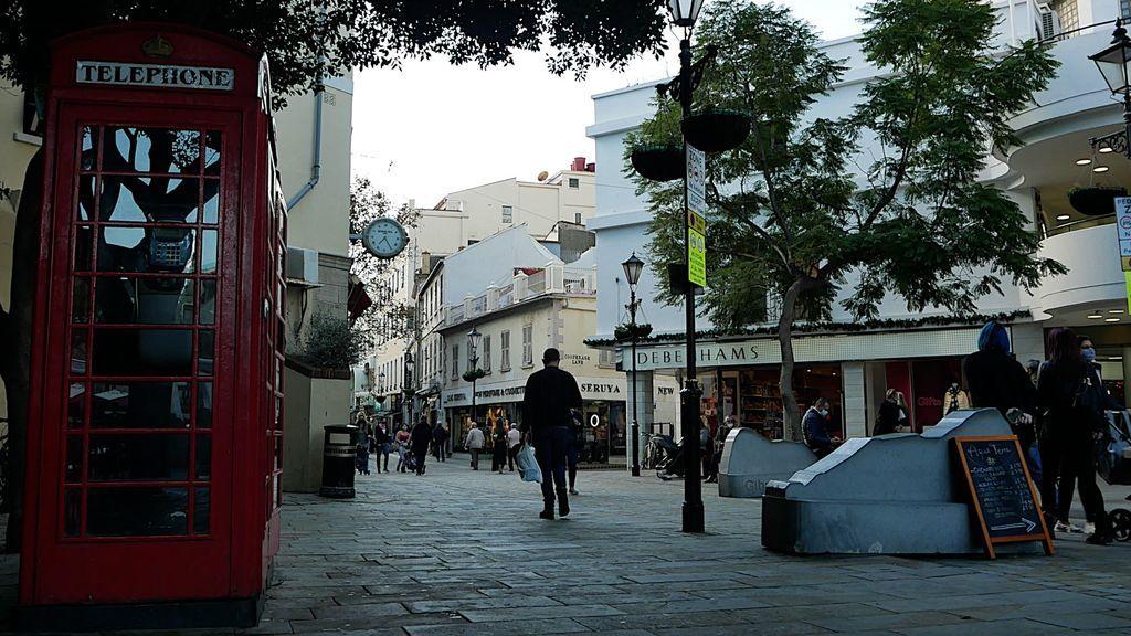 La calle principal de Gibraltar