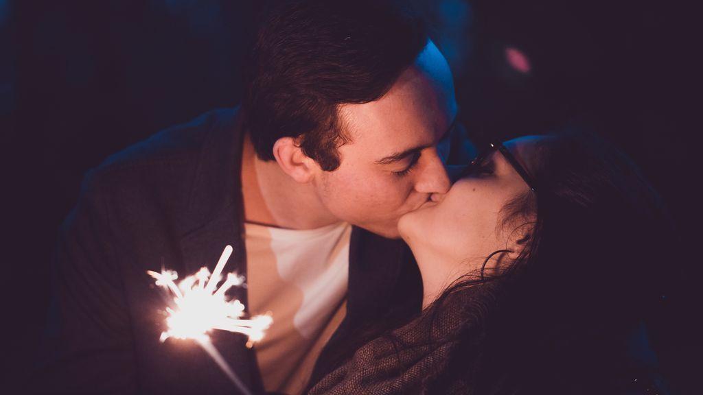 Los besos son típicos en Estados Unidos.