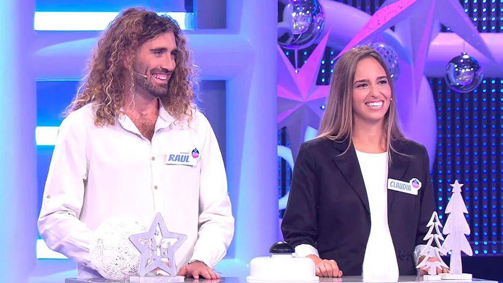 Raúl y Claudia, tentados por Dani Martínez y el dinerito en 'El Concurso del año'