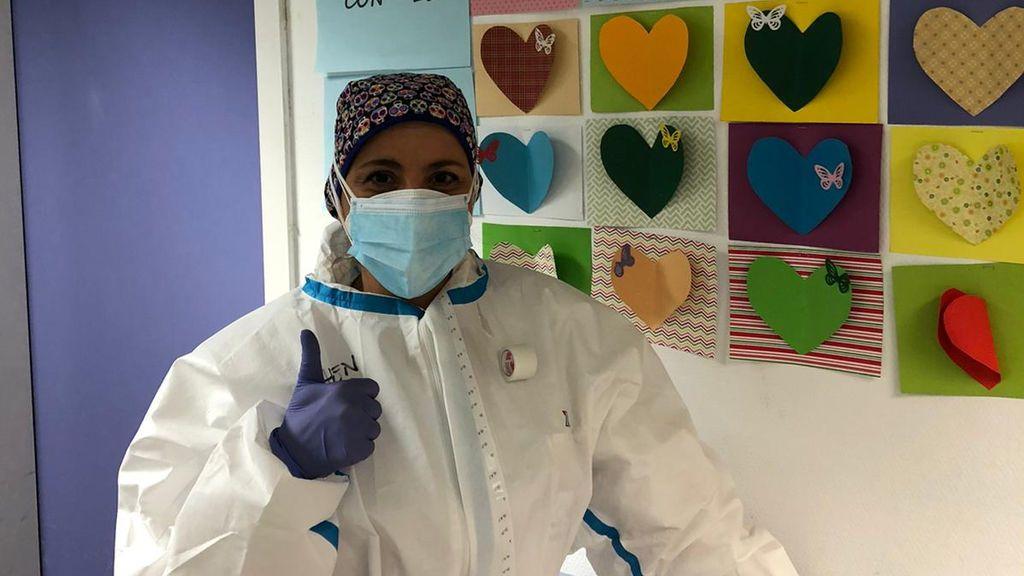 Elena, enfermera de urgencias
