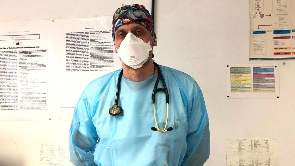 Juan Manuel Parra, medico de urgencias