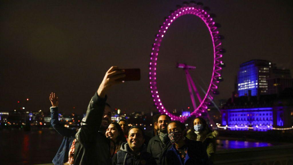 Despidiendo el año en Londres