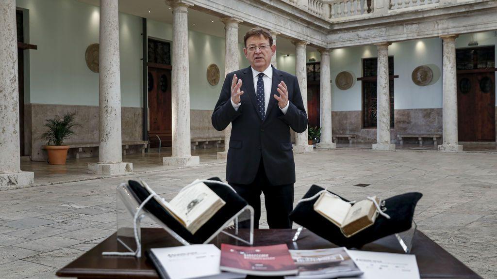 El covid ha centrado el discurso de Fin de Año del presidente de la Comunidad Valenciana, Ximo Puig