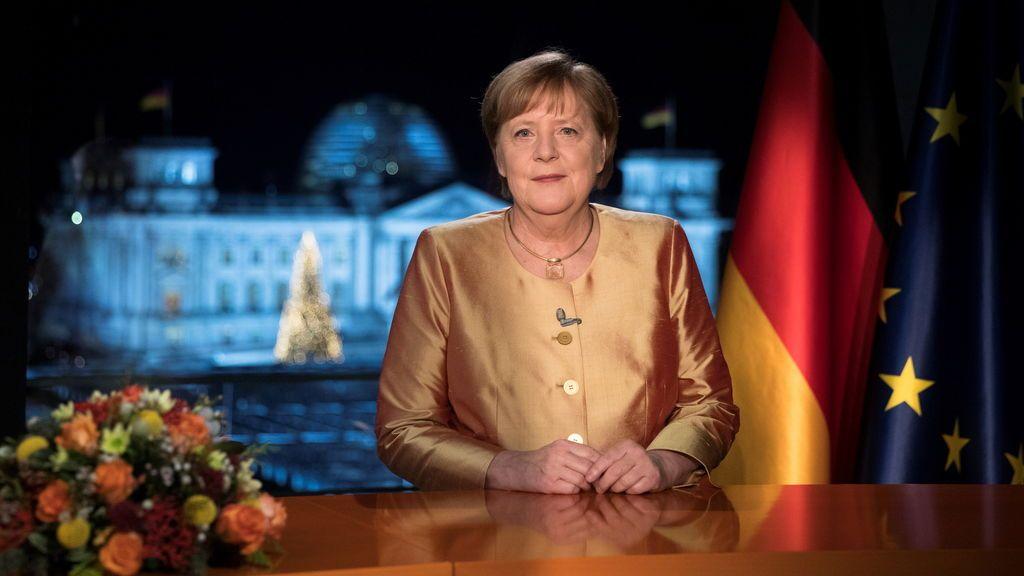 """Merkel en su último discurso de Año Nuevo: """"la pandemia es el problema político, social y económico del siglo"""""""