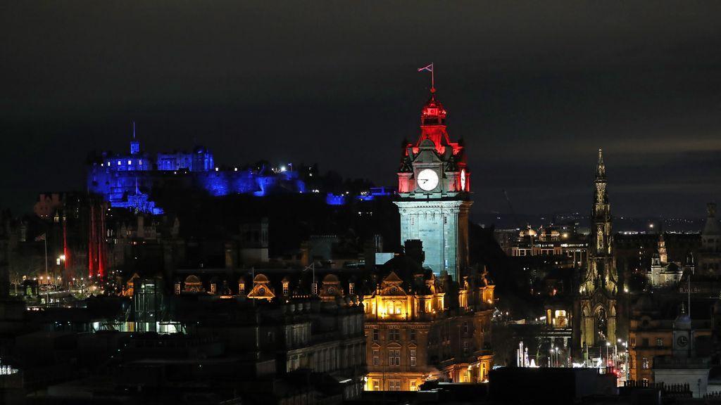 Fin de año en Edimburgo (Escocia)