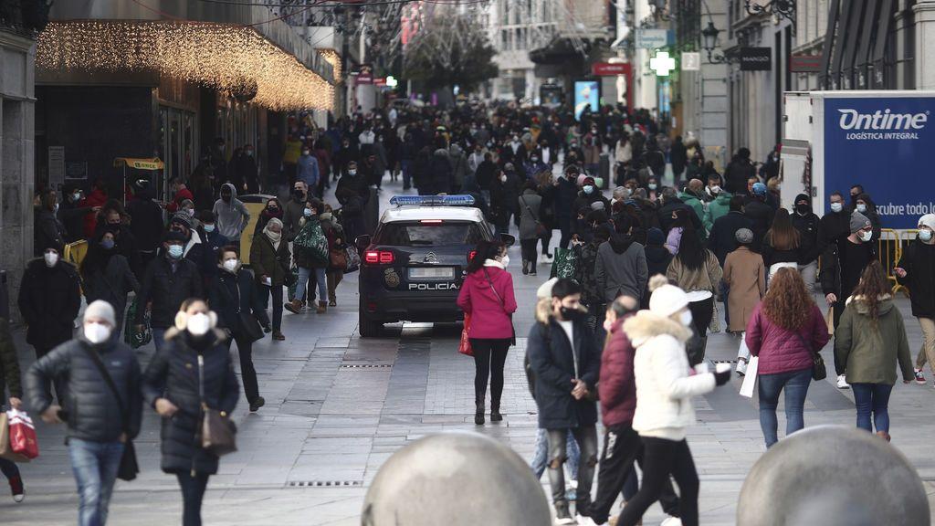 Madrid sube a 4.277 contagios de coronavirus antes de Nochevieja