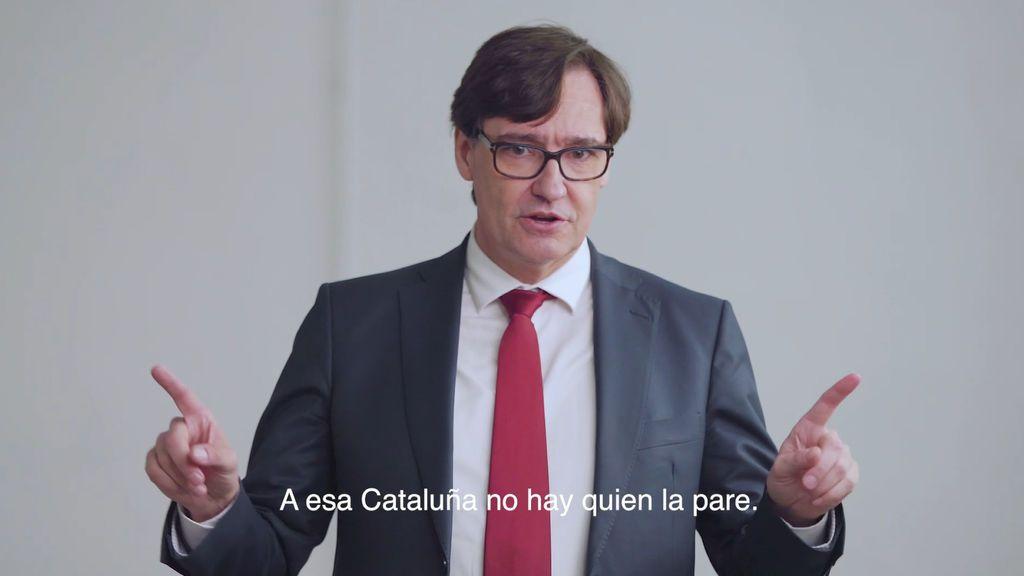 """El PSC presenta el vídeo de campaña de Illa: """"A esta Cataluña no hay quien la pare"""""""