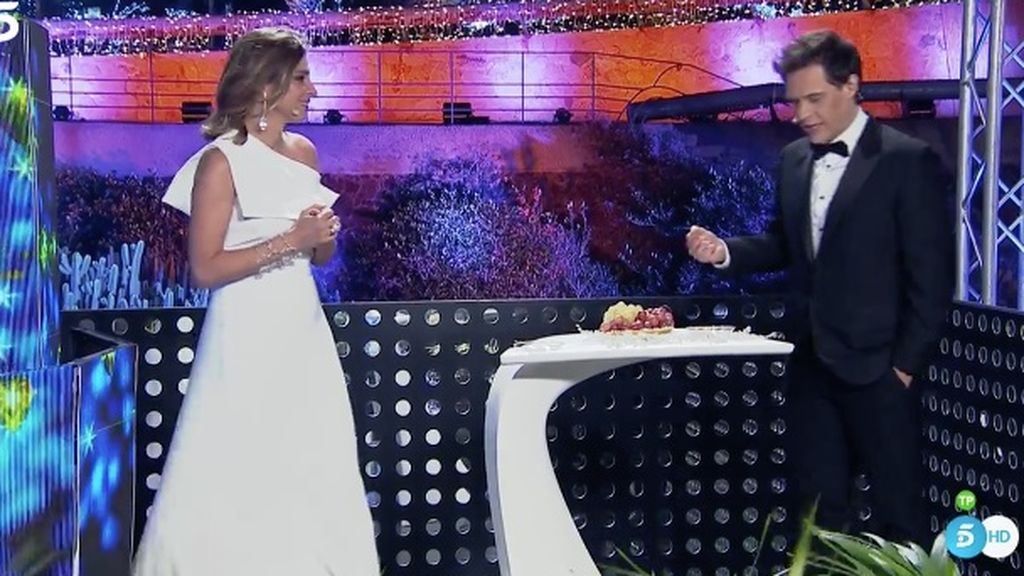 Sandra Barneda y Christian Gálvez