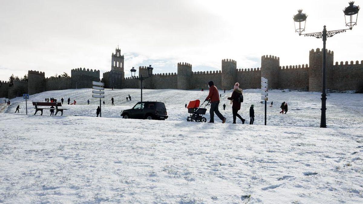 La nieve y las bajas temperaturas continuarán instaladas en la geografía española  en los próximos días