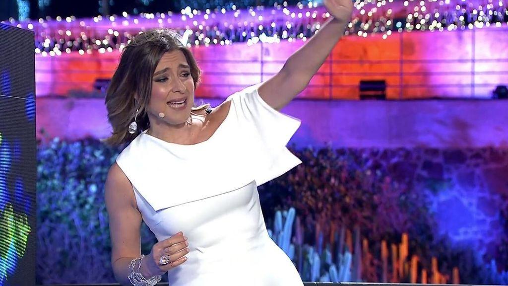 El mensaje de amor de Sandra Barneda a Nagore Robles durante las Campanadas