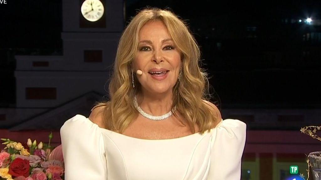 Ana Obregón, en su discurso en las Campanadas