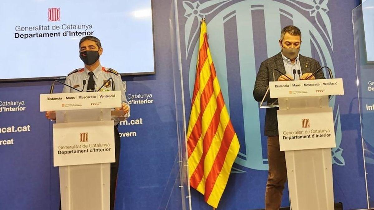 """El conseller de Interior de la Generalitat defiende haber esperado a desalojar la 'rave' de día por su """"complejidad"""""""