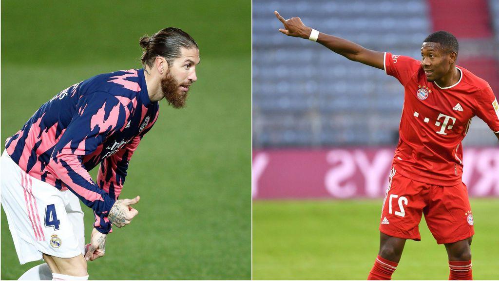 Alaba cada vez más cerca del Madrid, mientras Ramos sigue en el aire