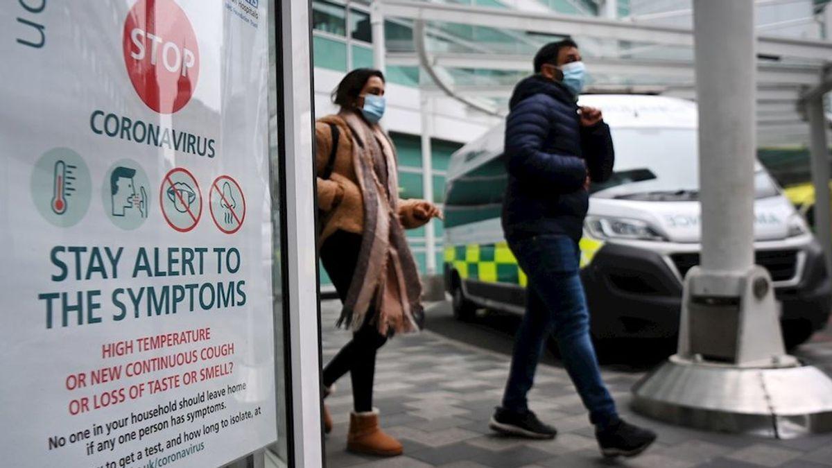 Reino Unido bate un nuevo récord histórico, con 57.725 contagios en las últimas 24 horas