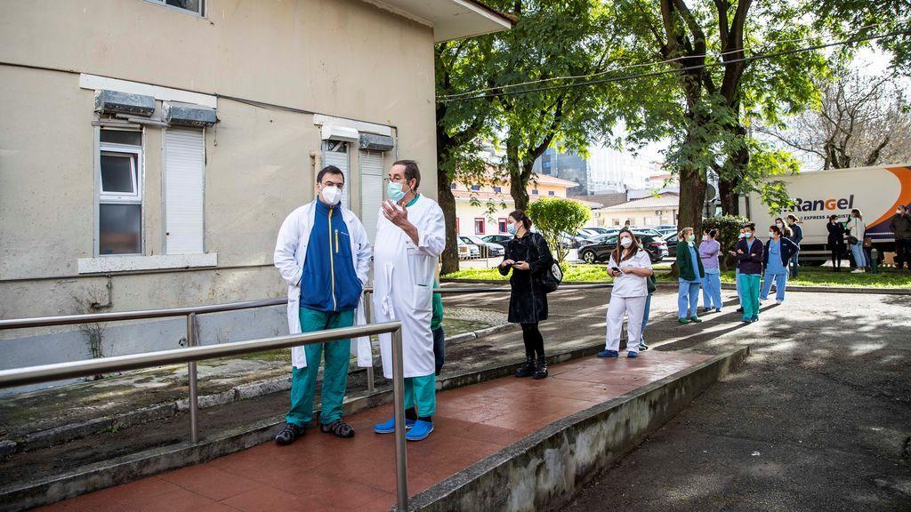 Fuerte aumento de hospitalizados en Portugal, con 73 muertes en una jornada