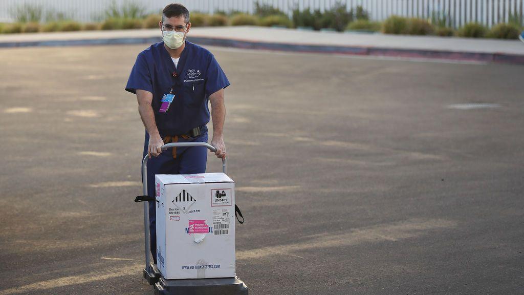 Identificada en California la nueva cepa británica del coronavirus